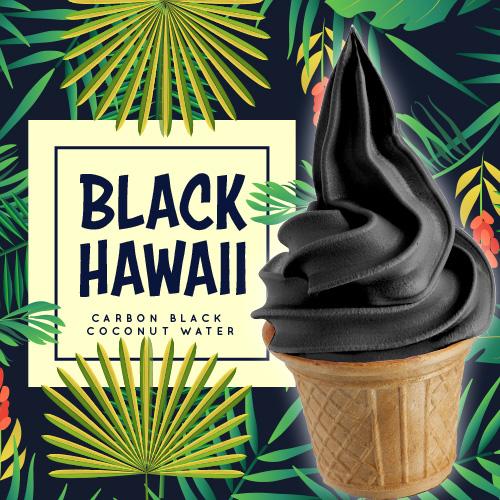 Soft Black hawaii